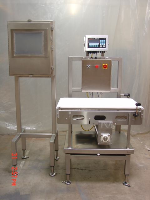 Wash Down Duty Checkweigh Scale Station