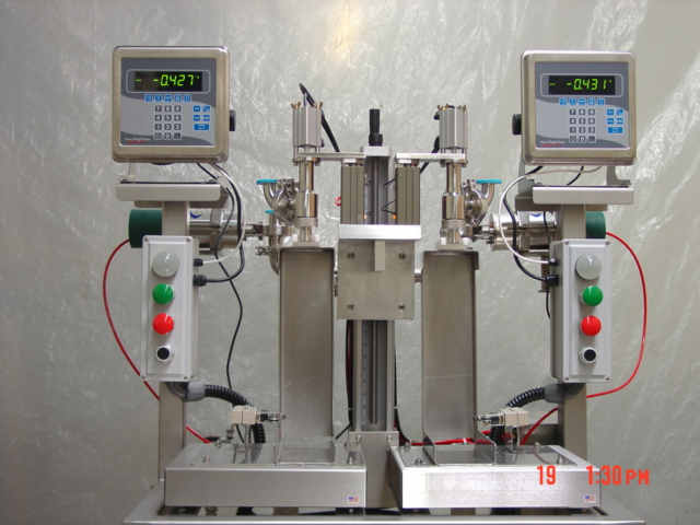 Dual Head Pharma Filler