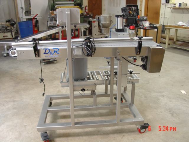 Portable Lid Sealer Scale Fill Packaging Machine
