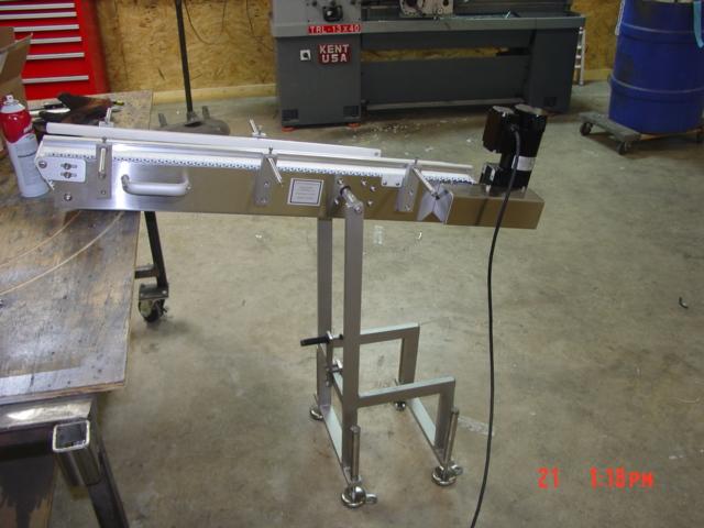 Drawbridge Conveyor Low Profile Transfer