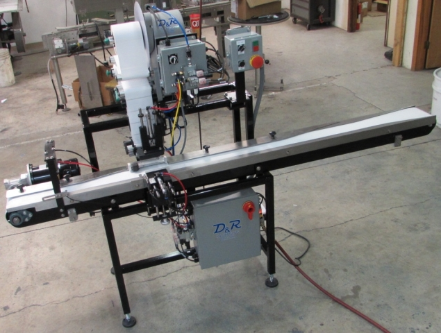 Tamp Applicator Automated Labeling Machine
