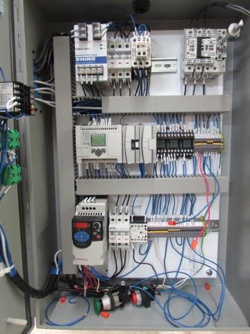 PLC Control Pallet Accumulation Conveyor Packaging Machine