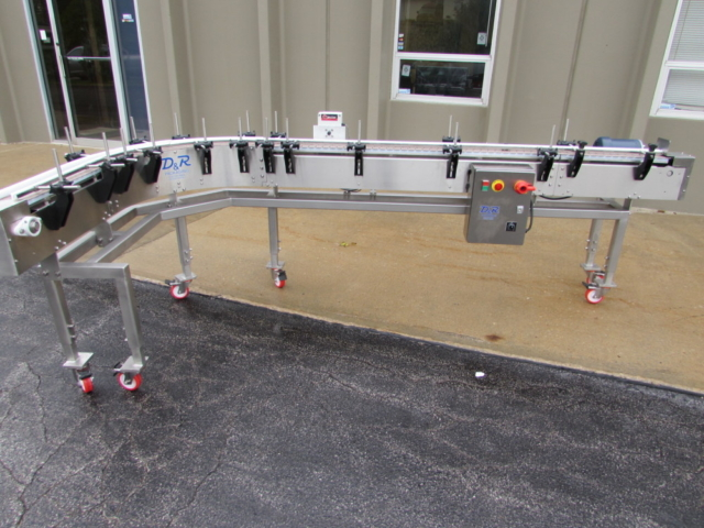 Portable 90 Degree Transfer Wash Down Conveyor