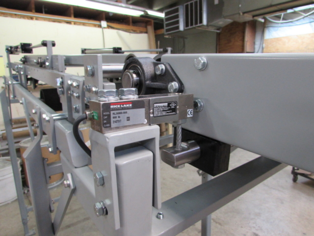 scale conveyor check weigh packaging machinery