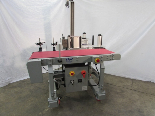 Portable Labeling Conveyor w/ Barcode Verification